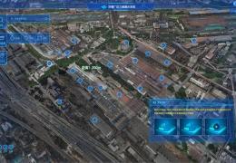 工业园区三维可视化+VR